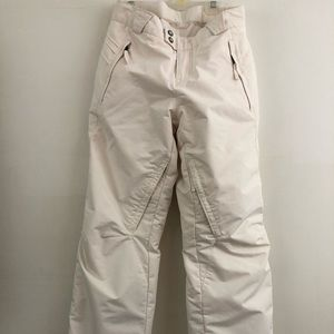 Columbia White Ski Pants Women's XS
